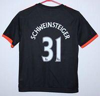 Manchester United England third shirt 15/16 #31 Schweinsteiger Adidas BNWT KIDS