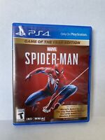 Marvel's Spider-Man: Game Of The Year Edition Sony PlayStation 4 NEW PS4
