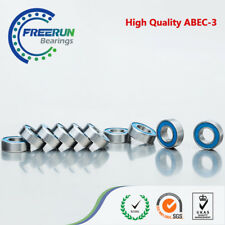 8x16x5mm Ball Bearing 688-2RS Bearing 8x16mm Bearing 10pcs ABEC 3 Blue Rubber