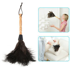 13inch Ostrich Feather Duster Durable Dust Collecting Cleaning Tool In Home Shop