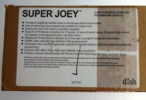 Dish Super Joey Client for Whole Home DVR Receiver Remanufactured in Sealed Box