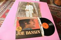 Joe Dassin LP Orig 1971 EX+ Gatefold Cover And Poster