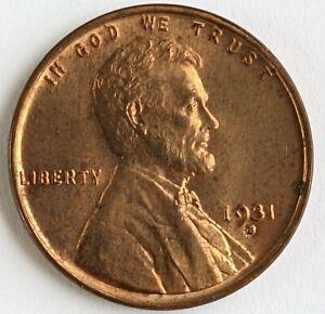 1931 - D - Lincoln Wheat Cent - Gem - BU Red - Semi Key Date