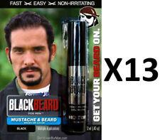 Blackbeard for Men Temporary Colour Mascara Beard Moustache Eyebrows BLACK X13