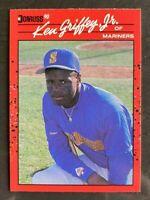 1990 Donruss Ken Griffey Jr. #365 - Seattle Mariners - HOF - NM-MT
