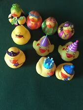 5 Birthday And 5 Hippie Rubber Ducks