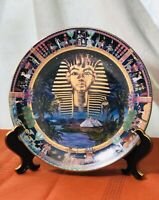 "POWER OF ANCIENT EGYPT ""TUTANKHAMUN"" BRADFORD PLATE BY SUE CLIMPSON"
