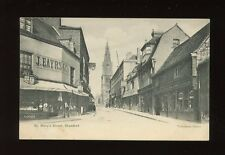 Lincolnshire Lincs STAMFORD St Mary's St Cade Confectioners c1900/10s? PPC