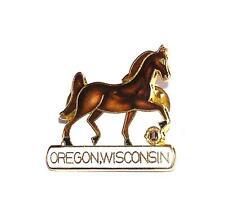 PIN/HATPIN Vintage Cloisonne Oregon, Wisconsin Club LIONS CLUB MEMORABILIA