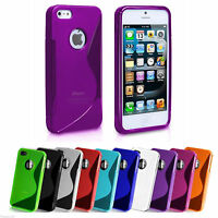 Gel Case S Line Cover Skin Silicone For iPhone 4 4G 4S 4GS + Free Screen Guard
