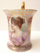 Tasse à café ou thé en porcelaine  CAPODIMONTE ancien