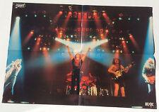 # POSTER ENFER MAGAZINE 42 x 54cm # SCORPIONS / AC/DC