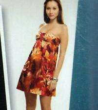 """PROJECT RUNWAY DRESS Sewing Pattern UNCUT Up to Bust 34"""" Sz 10 OOP Party EVENING"""