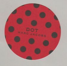 Carte à parfumer -  Perfume Card  - Dot Marc Jacobs