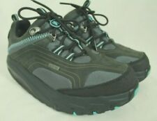 MBT SWISS WOMEN'S BLACK TONING SHAPE UP RUNNERS SNEAKERS SIZE 6.5US/36EU EUC!