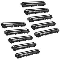 10PK TN221BK TN221 BLACK Toner for Brother DCP-9020CDN HL-3150CDN MFC9130CW 9130