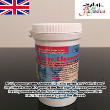 Dr Rob Marshall KD Powder 400g Bird Disinfectant Water Cage Cleaner Drinkers