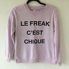 ZOE KARSSEN  Le Freak C'est Chique Light Lilac  Top S UK 10