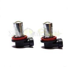 H11 5W CREE LED Fog Spot DRL Light Bulbs Xenon White 6000K