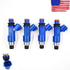 4x OEM Denso Dark Blue 565cc Fuel Injectors 16611-AA720 For Subaru WRX / STI USA