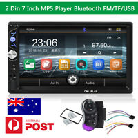 7Inch 2Din Bluetooth Touchscreen Car Stereo MP5 Radio AUX FM TF USB t Head Unit