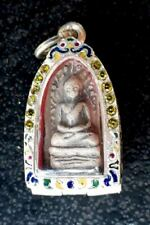 Phra Rod Mahawan Talisman Magic Lucky Wealth Old Thai Buddha Amulet Pendant