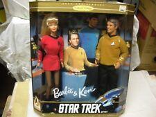 BARBIE & KEN STAR TREK GIFT SET 1996 Mattel #15006 MOLTO PARTICOLARE MISB