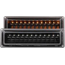 ANZO LED Parking Lights Black For 1992-1994 CHEVROLET BLAZER FULL SIZE (K5)