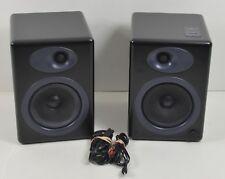 AudioEngine 5 A5B-115v Powered Speakers Bookshelf Satin Black