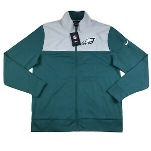 Nike NFL Onfield Philadelphia Eagles Coaches Jacket NKB6-003K size MEDIUM NWT