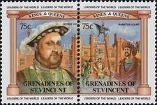 ST. VINCENT GRENADINES -1983- British Monarchs - King James I - Se-Tenant - #282