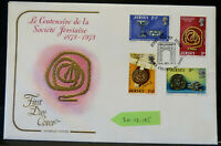 Jersey: First Day Cover: Theme: Societe Jersiaise :Dated 1973 (20.12.185)