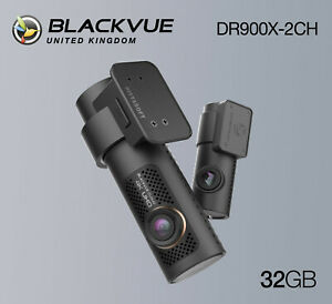 BlackVue Dash Cam DR900X-2CH 4K Front and Rear Wi-Fi GPS (32GB) - NEW