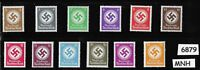 Full Stamp set / WWII Symbol / 1934-1942 / All stamps MNH / Third Reich Germany