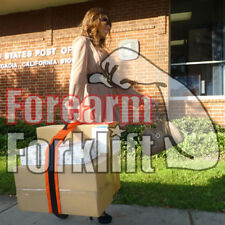 "Forearm Forklift Box Strap: 3"" wide, the width makes it more stable"