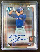 2015 Bowman Chrome 1st DESMOND LINDSAY Autograph Rookie Signature #BCA-DL Mets