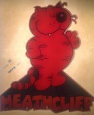 "Vintage 70s ""Heathcliff"" Comic Strip Character Iron on Transfer"