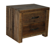 Solid recycled pine Bedside,lamp table,side table