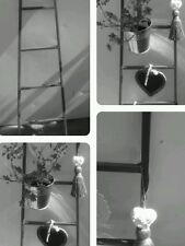 Leiter Metall *Grau *Leiter *Deko-Leiter*100cm *Handtuchhalter