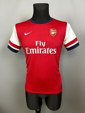 ARSENAL 2012 2014 HOME SHIRT FOOTBALL SOCCER JERSEY NIKE BOYS SIZE XL