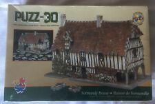Vintage 1995 Puzz3D Normandy House BNIB Sealed