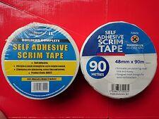 Professional Drywall Scrim Tape Self Adhesive Plasterboard Joint Repair Mesh
