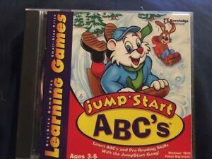 Jump Start ABC's CD Rom