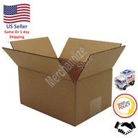 25 10x8x6 Corrugated Cardboard Shipping Mailing Packing Moving Boxes Box Carton