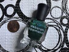 DEBORAH LIPPMANN Nail Polish * GREEN EYED LADY * .27 oz Fashion Size
