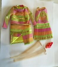 REPRO Outfit MOD Barbie All That Jazz, dress, coat, belt, stockings, shoes