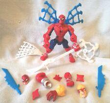 MARVEL AVENGERS SUPER HERO MASHERS SUPER SPIN SPIDER-MAN FIGURE - 2015 HASBRO