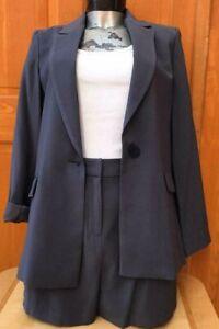 Ex Oasis short suit set -Blazer and shorts sizes 8-18