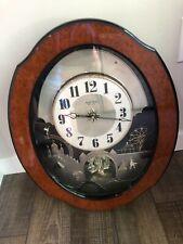 Grand Timecracker Musical Magic Motion Clock by Rhythm Clocks Small World