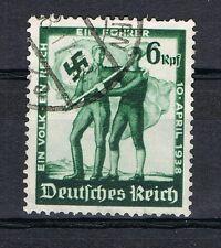 GERMANY 3 RD Reich WW2 1938 Flag Swastika used